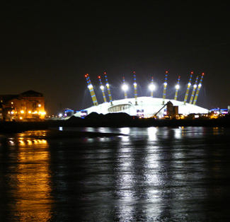 The Dome across the Thames