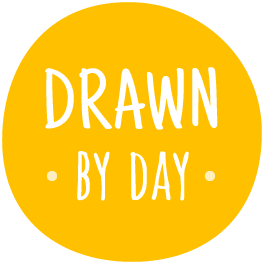 Drawn By Day logo